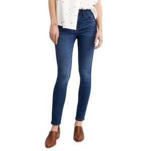 MADEWELL Roadtripper High Rise Skinny Jeans